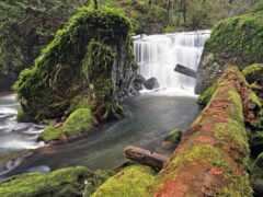 водопад, pic