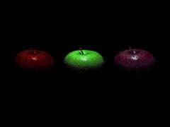 fone, черном, яблока
