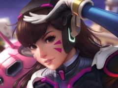 overwatch, dva, artwork