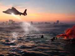 побережье, гвардия, rescue
