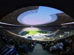спорт, окно, стадион