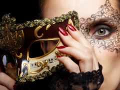 маска, макияж, лицо