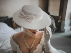 женщина, шляпа, девушка