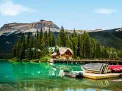 озеро, гора, national