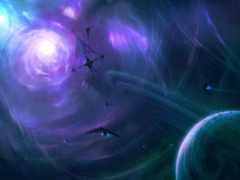 fantasy, cosmos, техника