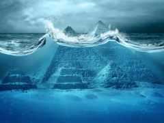 йонагуни, город, подводного
