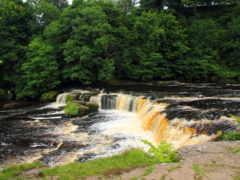 aysgarth, falls, йоркширский