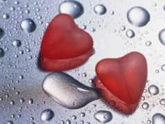 сердца и капли
