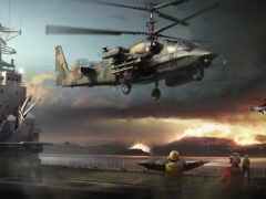 spacecraft, вертолет, russian