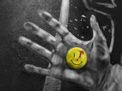 креатив, watchman, улыбка
