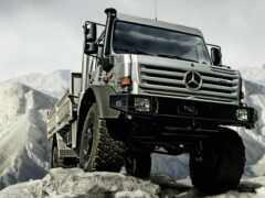 грузовик, mercede, unimog