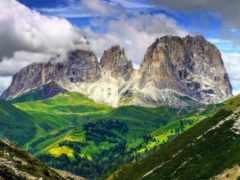 альпы, доломитовые, горы