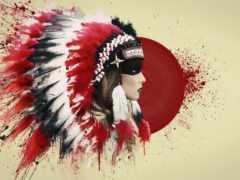 indian, перья, мужчины