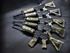 senjata, untuk, иза