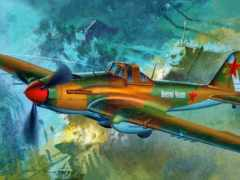 art, авиация, самолёт