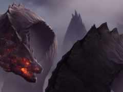 дракон, art, fantasy