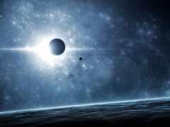 eclipse, солнечный, planet
