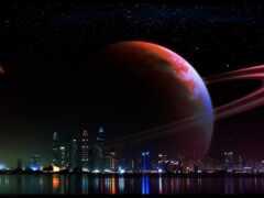 космос, ночь, pic