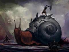 snail, войны, art