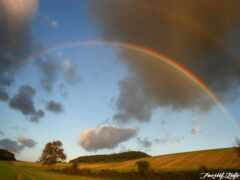 радуга, явление, глядя