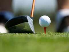 golf, курс, hole