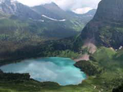 горы, озеро, phong
