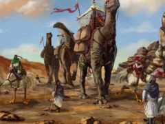 fantasy, пустыня, art