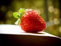 strawberries, pinterest, еда