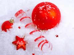 christmas, серпантин