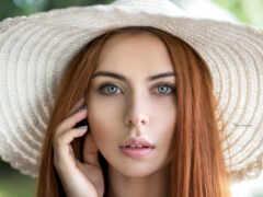 portrait, модель, взгляд