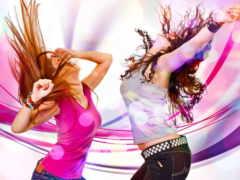 devushki, танце, танцующие