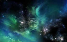 space, galaxy, galaxies