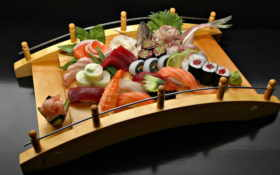 еда, sushi, красиво