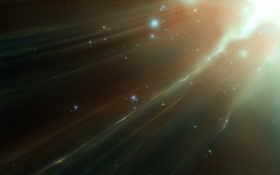свет, звезды