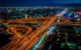 япония, города, город