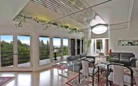 balcony, interior, дом
