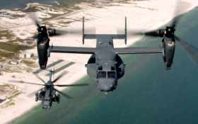 авиация, вертолет, самолёт