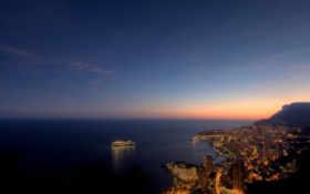 monaco, ночью, summer