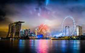 сингапур, ночь, отель
