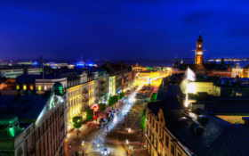 sweden, ночь, города