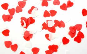 amor, corazones, para