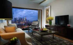 комната, дизайн, интерьер
