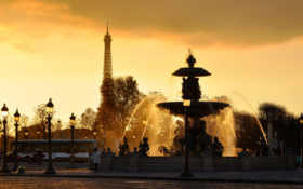 paris, вода