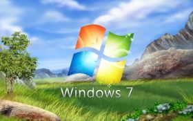 windows, природа, win-7