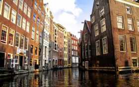 амстердам, постройки Фон № 23533 разрешение 1920x1200