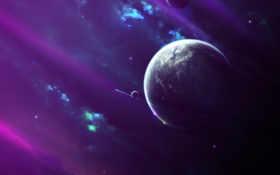 звезды, туманность Фон № 24102 разрешение 2880x1800
