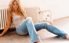 shakira, jeans