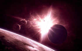 universe, space Фон № 14493 разрешение 1920x1200