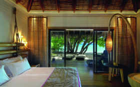 bedroom, cozy, room Фон № 47709 разрешение 2560x1600