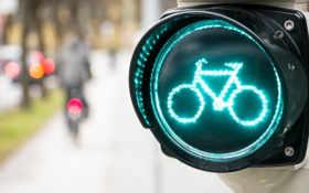 bike, sign, светофор